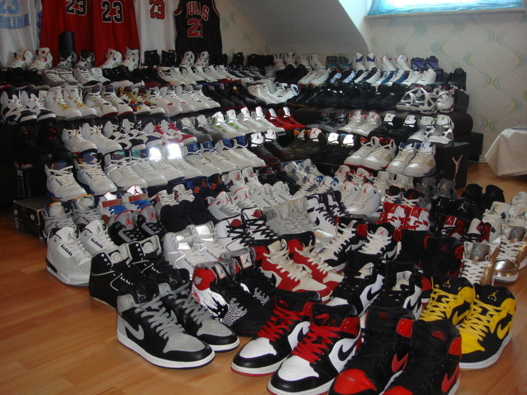 sirk-jordan shoe collection
