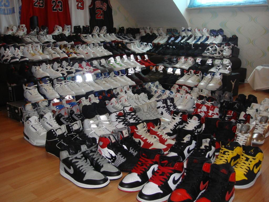 sirk-jordan shoe collection